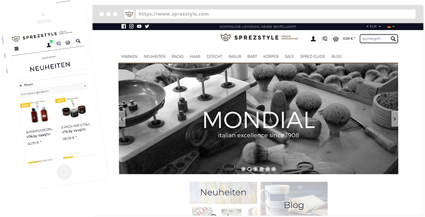 Entwicklung Onlineshops & eCommerce
